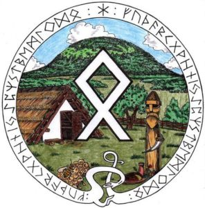 Runes to protect the house from trouble.