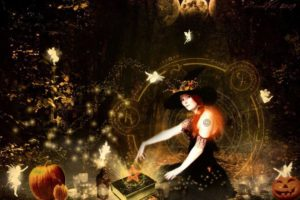 Rituals for prosperity and creativity, and Tarot.