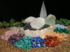 Belief in the healing power of stones