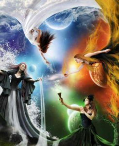 Who are the Witches of the Elements?