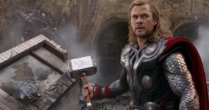 Thor-God of Thunder and son of Odin.