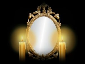 """How to make a magic mirror so that the mirror """"works""""."""