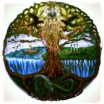 The tree of Life Yggdrasil — the symbol of the Vikings