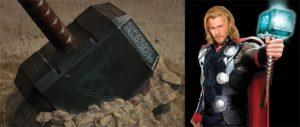 Mjolnir-Hammer Of The God Thor