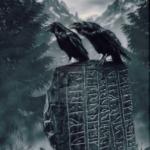 Hugin and Munin-Odin's ravens