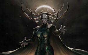Goddess of death-Hel