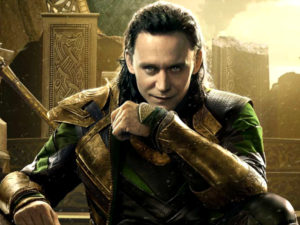 Loki-God of fire, cunning, and guile