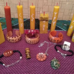 Practice of using runic candles