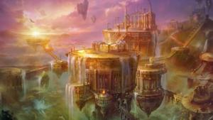 Guide to the 9 worlds. Asgard. Folkwang and Sessrumnir. Author: Raven Kaldera