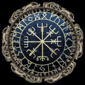 Vegvisir ancient runic-a pointer to the path.