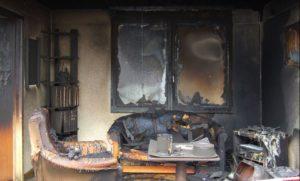 Damage to the premises. Author Stanislav Kucherenko