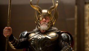 The ritual of addressing Odin. Author: Hadeken