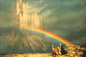 Guide to the 9 worlds. Asgard. Gladsheim and Valaskjalf. Author: Raven Kaldera
