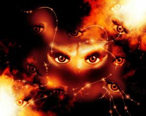 Self-evil eye. Stanislav Kucherenko